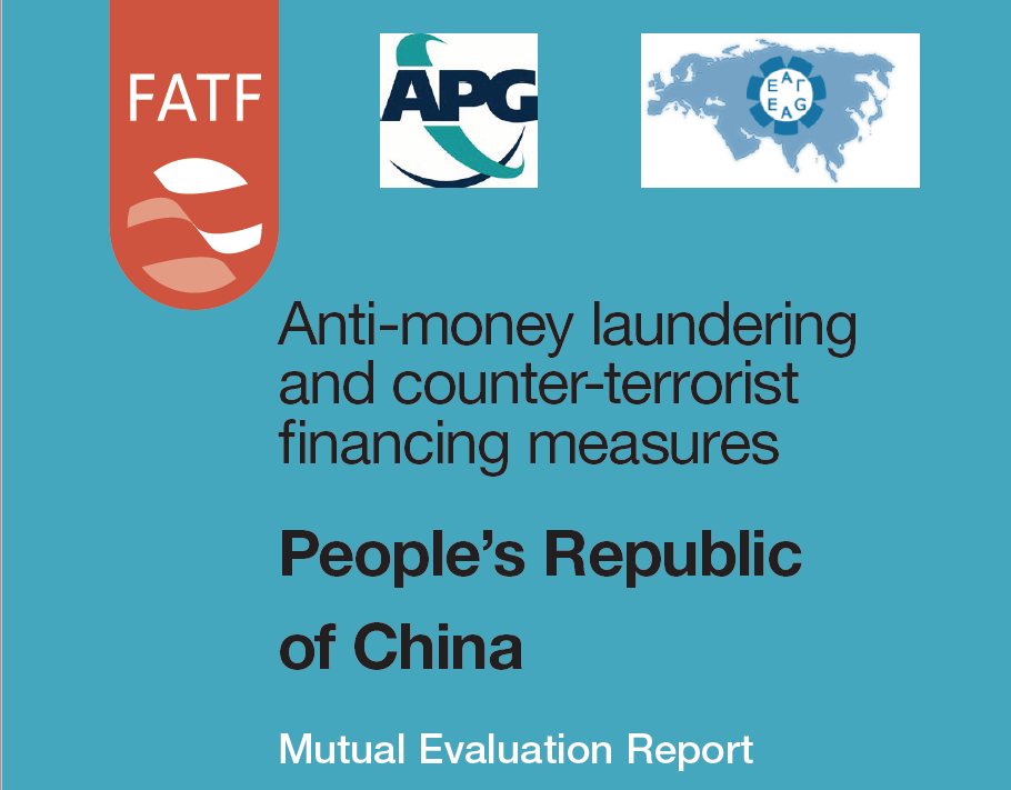 Mutual Evaluation Report of China - 2019, Executive Summary